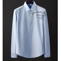 2020最新ディオールシャツメンズサイズ感 肌触りの良い Diorコピー高級ファッションカジュアルエレガントな逸品enshopi.com sn:fuKXXD-1