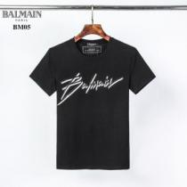 Balmain t-shirt with embroidered logoバルマン Tシャツ スーパーコピー 通販 快適な着心地2020トレンド人気新作enshopi.com sn:XvGviy