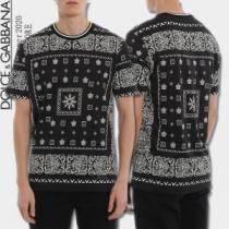 世界共通のアイテム 半袖Tシャツ 海外限定ライン ドルチェ&ガッバーナ Dolce&Gabbana  試してみようenshopi.com sn:K51vGr-1
