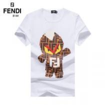 半袖Tシャツ この時期の一番人気は2色可選  フェンディ FENDI  シンプルなファッションenshopi.com sn:Kr8Pnu-1