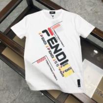 フェンディ高級感のある素材  3色可選 FENDI 一番手に入れやすい 半袖Tシャツ 海外でも人気なブランドenshopi.com sn:1X1nym-1