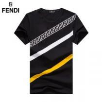 おしゃれな人が持っている 2色可選  半袖Tシャツ 2020SS人気 フェンディ1点限り!VIPセール  FENDIenshopi.com sn:15De8f-1