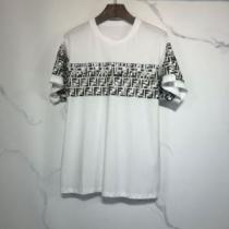 ランキング1位 2色可選  フェンディ FENDI 愛らしい春の新作 半袖Tシャツ 2020話題の商品enshopi.com sn:L5515n-1
