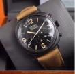 2016 絶大な人気を誇る PANERAI パネライ 6針クロノグラフ 日付表示 透かし彫りムーブメント 腕時計.