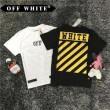 お洒落な存在感 オフホワイト OFF-WHITE 2017 派手 半袖Tシャツ 2色