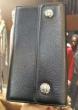 お得セール CHROME HEARTS クロムハーツ コピー 財布 メンズ 大サイズカード収納 大容量 ブラック 手持ち 長財布