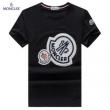 モンクレール tシャツ 偽物MONCLER全国無料正規品ロゴ付きTシャツサイズ豊富大活躍黒白グレー男性用夏アイテム
