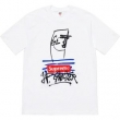 シュプリーム tシャツ コピーSUPREME超激得送料無料今年らしいゆったり半袖Tシャツ清涼感ブラックホワイト