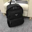 品質保証最新作質感上質優秀な収納力バックバッグ防水ファブリック通勤旅行ブラックPRADAプラダ バッグ 偽物 通販