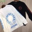 人気ランキング クロム ハーツコピー通販長袖tシャツ  注目度の高い chrome heartsスーパーコピー 薄手通気性抜群 圧倒的な支持率