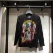 秋のおしゃれをスタートする人気新作長袖/Tシャツ PHILIPP PLEIN 定番人気の2019秋冬モデル フィリッププレイン