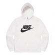 愛用セレブ芸能人 3色可選 Supreme Nike Leather Hooded Sweatshirt 2020話題の商品 スタイルアップ