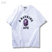 3色可選 ファション性の高い 2017春夏 男女兼用 半袖Tシャツ ア ベイシング エイプ A BATHING APE_品質保証