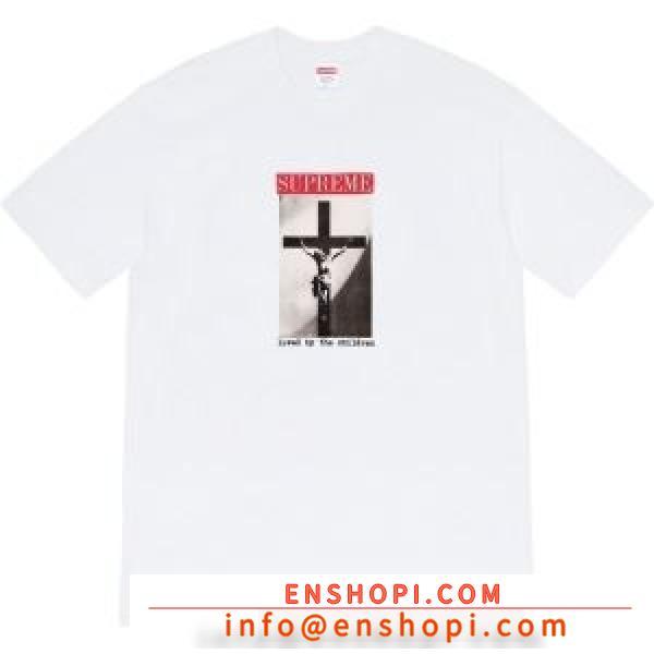 多色可選  SUPREME  おすすめモデルセール シュプリーム2020新しいモデル 半袖Tシャツ 激安手に入れようenshopi.com sn:buSXna-2