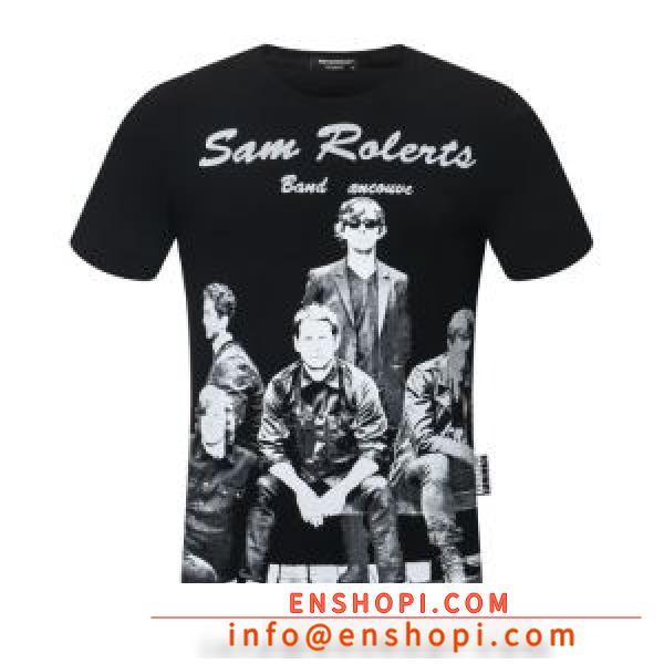 多色可選 半袖Tシャツ 幅広いシーンに活躍 フィリッププレイン PHILIPP PLEIN 2020春夏大活躍enshopi.com sn:0LbmGf-2