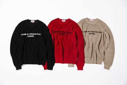 Week4!supreme コピー18FW★Comme des Garcons Cotton Sweater-3