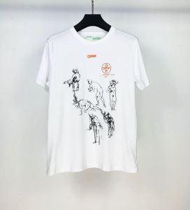 2色可選 シンプルなファッション 半袖Tシャツ この時期の一番人気は Off-White オフホワイトenshopi.com sn:D81TLD-3