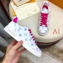 海外トレンド新品ヴィトン 1A641Pフロントローライン スニーカーweishanli コピー 靴 歩きやすさ2020年最新限定enshopi.com sn:aK9zii-1