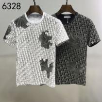 2色可選 半袖Tシャツ 普段使いにも最適なアイテム ディオール ストリート界隈でも人気 DIORenshopi.com sn:HHL1Tn-1