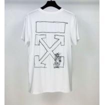 半袖Tシャツ 2色可選 最もオススメ Off-White 人気が継続中 オフホワイト  海外でも大人気enshopi.com sn:XnuKTb-1